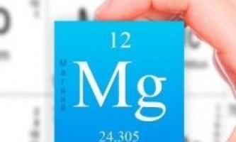 Дефіцит магнію в організмі
