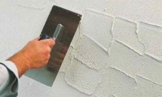 Декоративна шпаклівка стін