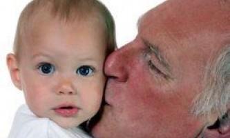 Діти чоловіків зрілого віку живуть довше