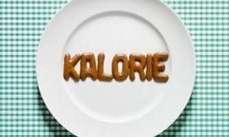 Дієта на основі підрахунку калорій