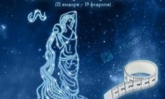 Дієта по гороскопу вдалий (21 січня - 19 лютого)