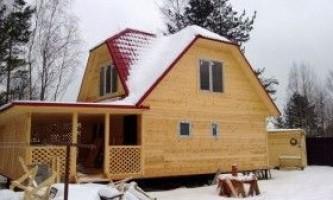 Двоповерхова баня: технологія будівництва