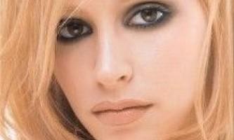 Димчастий макіяж очей