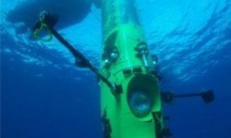 Джеймс камерон відправляється на дно океану