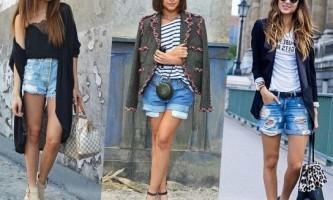Джинсові шорти: з чим носити?