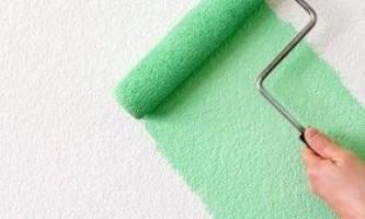 Фактурне фарбування стін: покрокова інструкція