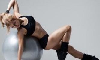 Фітбол для схуднення: вправи для всіх груп м`язів