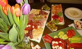 Фуршетні закуски: фото, рецепти