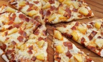 Гавайська піца - рецепт