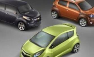 General motors випустить в 2013 році повністю електричний chevy spark