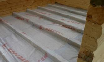 Гідроізоляція підлоги в лазні