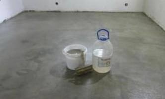 Гідроізоляція підлоги рідким склом