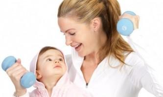 Гімнастика для немовлят 2 місяці