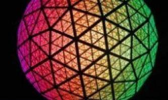 Кришталева куля з таймс-скверу - традиція в ногу з технологіями