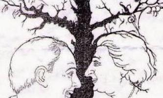 Ілюзія: скільки осіб ви бачите на малюнку?