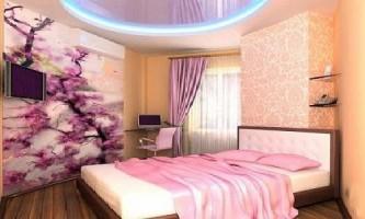 Інтер`єр спальні для дівчини