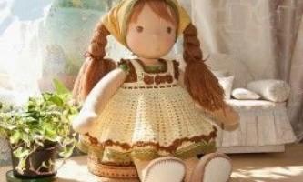 Виготовлення вальдорфської ляльки своїми руками