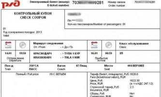 Електронний квиток на поїзд ржд: як користуватися?