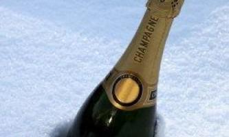 Як швидко охолодити пляшку шампанського