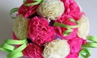 Як робити гофровані квіти