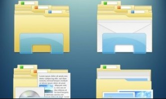 Як змінити зовнішній вигляд папок на windows?