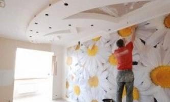Як клеїти фотошпалери на стіну