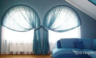 Як красиво повісити тюль і штори в кімнаті