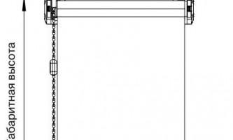Як кріпити рулонні штори?