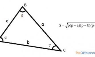 Як знайти площу трикутника?