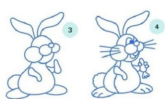 Як намалювати кролика?