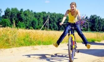 Як навчиться кататися на велосипеді?