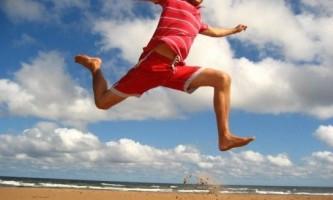 Як навчиться високо стрибати?
