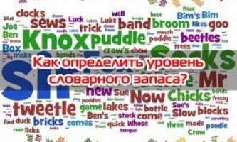 Як визначити рівень словникового запасу