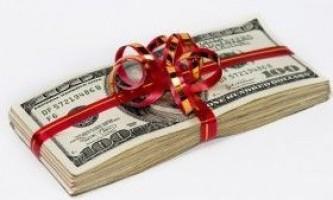 Як оригінально подарувати гроші