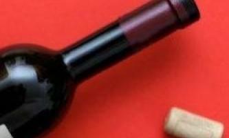Як відкрити пляшку вина без штопора