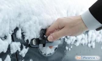 Як відкрити замерзлу двері машини?