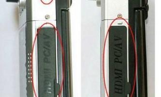 Як відрізнити справжній відеореєстратор dod f900lhd від підробки?