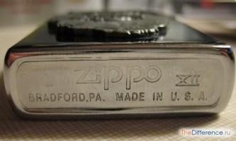 Як відрізнити справжню запальничку zippo від підробки?