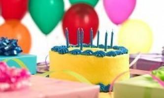 Як відзначити день народження дитини в 7 років