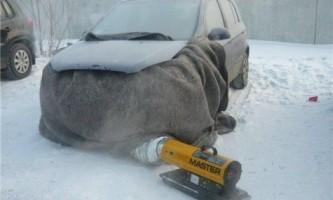 Як відігріти машину взимку?