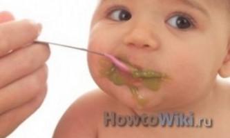 Як відучити дитину від грудей?