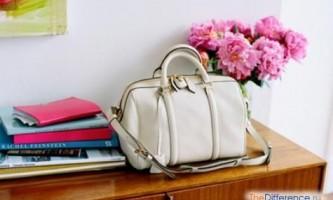 Як почистити білу шкіряну сумку?