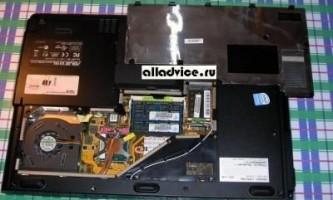 Як почистити ноутбук від пилу?