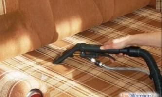 Як почистити оббивку дивана?