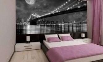 Як підібрати фотошпалери для спальні