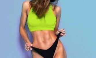Як схуднути в животі і стегнах?