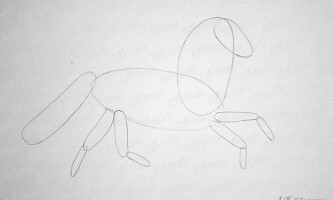 Як поетапно намалювати коня