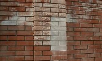 Як пофарбувати цегляну стіну?