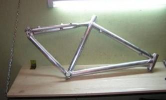 Як пофарбувати раму велосипеда?