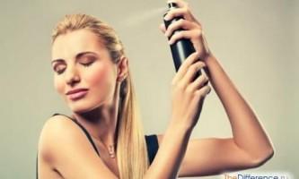 Як користуватися лаком для волосся?